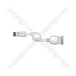 ITX214 iPOD-USB A Mini Reel 1.0m