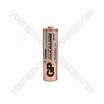 Alkaline batteries, D, 1.5V, packed 2 /blister