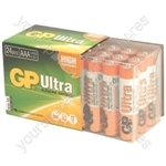 AA 24pk Ultra alkaline batteries in easy store UPVC Box