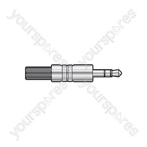 3.5mm mono plug, metal