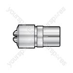 MA12BL1 precision coaxial socket - 1 per blister