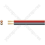 ECONOMY FIG 8 SPEAKER CABLE RED/BLACK